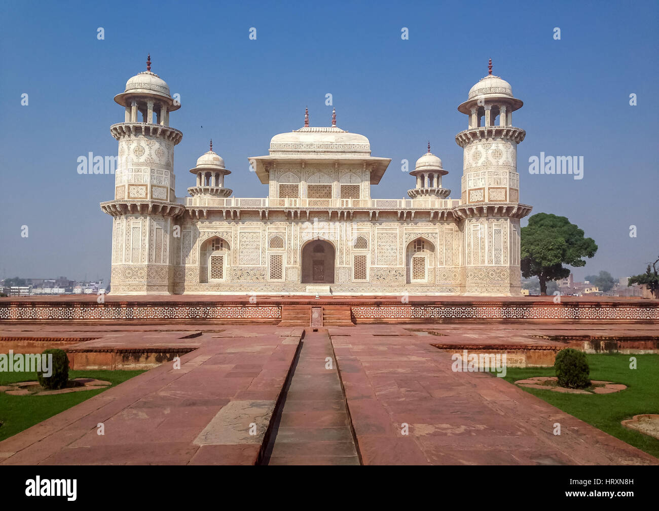 Itmad-Ud-Daulah's Tomb - Agra, India Stock Photo