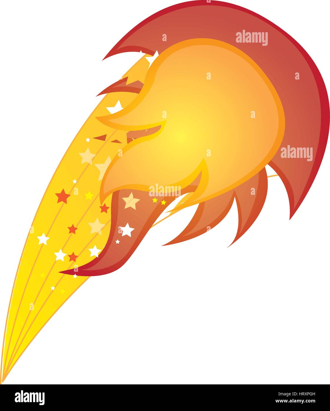 colorful silhouette with yellow olympic flame vector illustration - Stock Vector