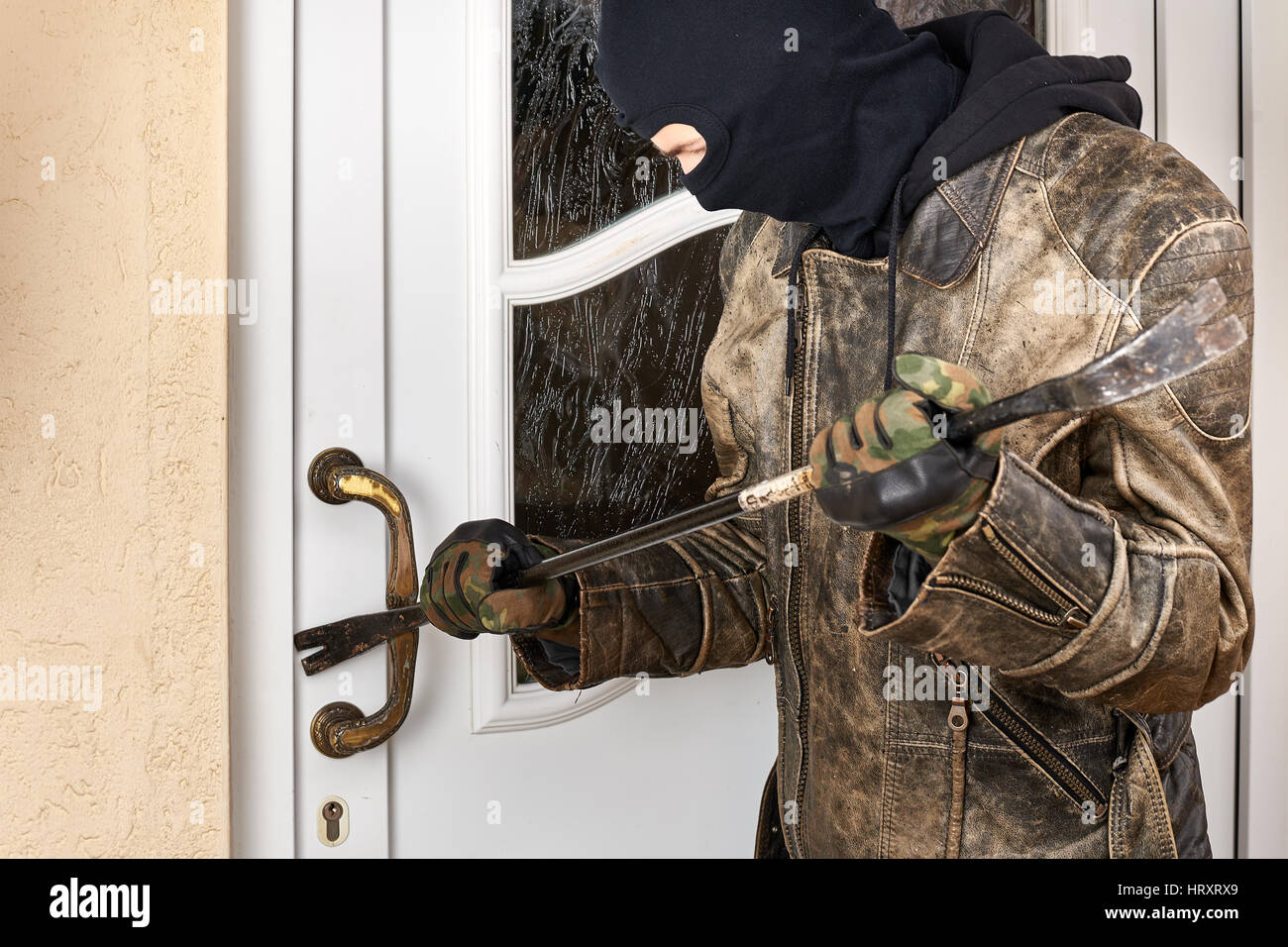 how to break into a house