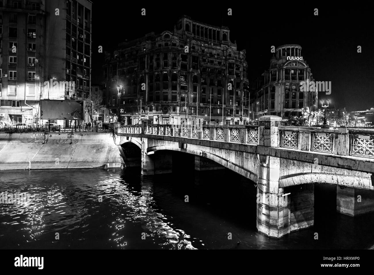United Nations Square, Bucharest, Romania - Stock Image
