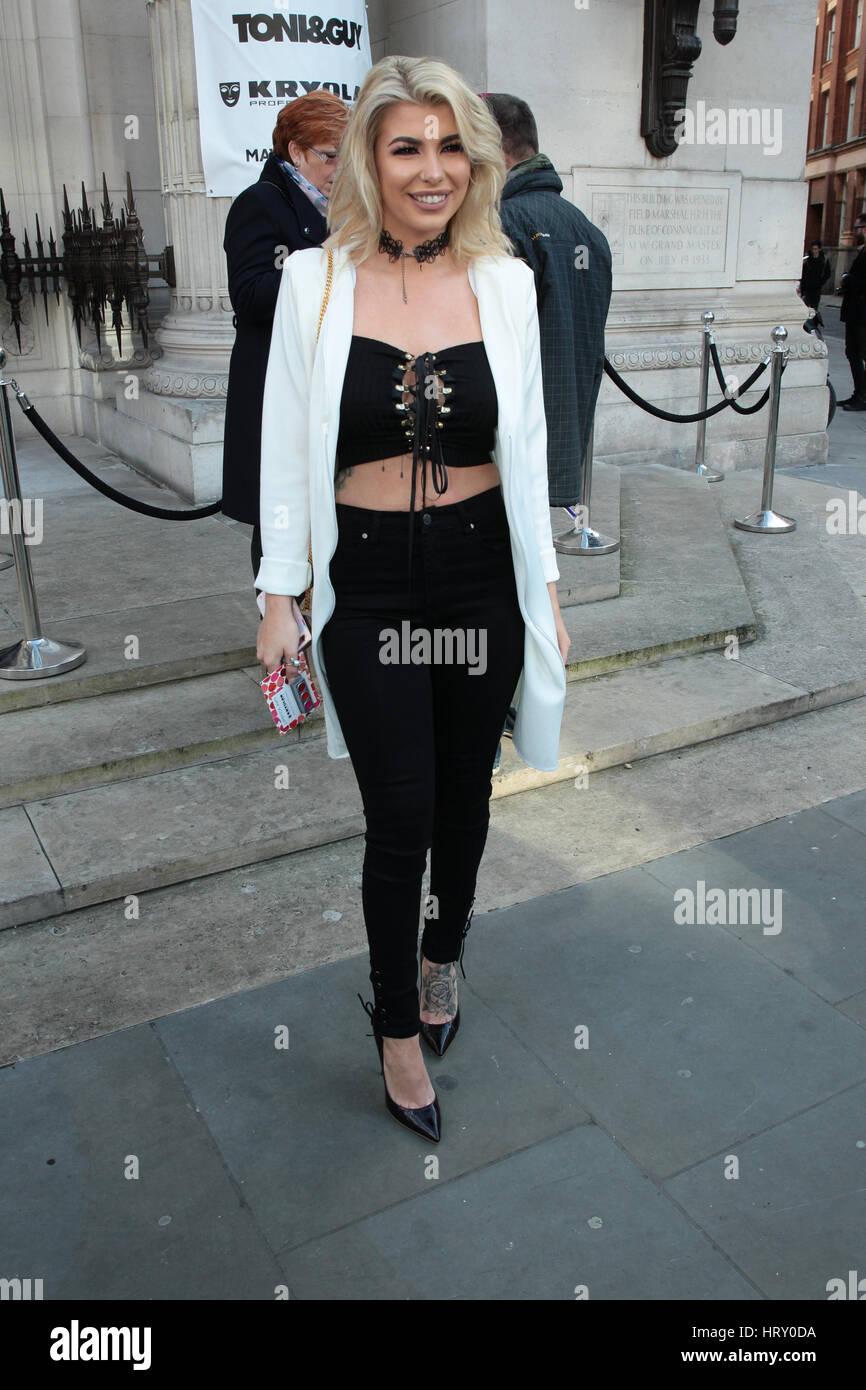 Watch Olivia buckland attends london fashion week video