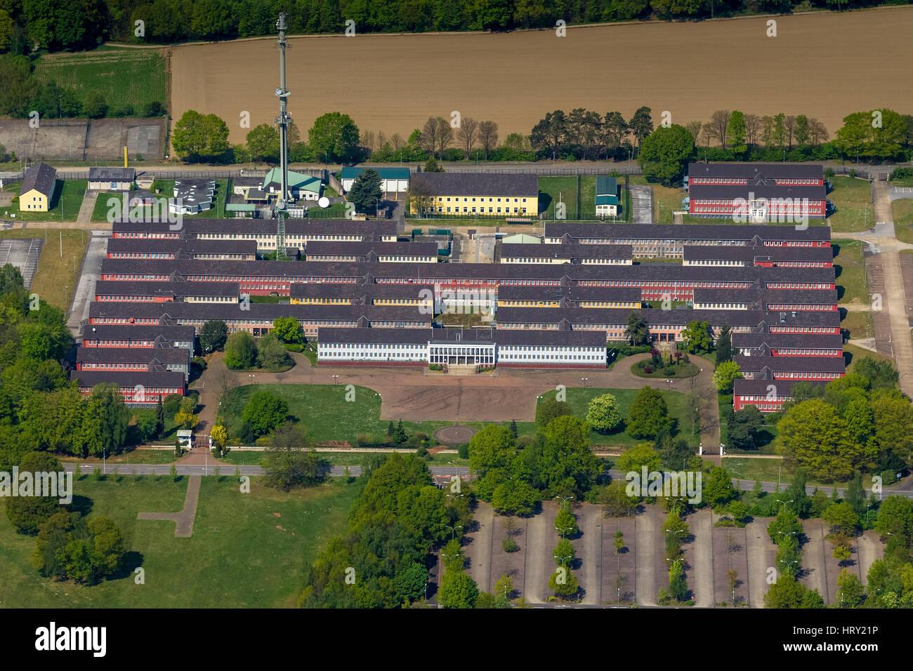 Conversion, former military headquarters of the British Army Army, JHQ Rheindahlen, Mönchengladbach, Lower - Stock Image