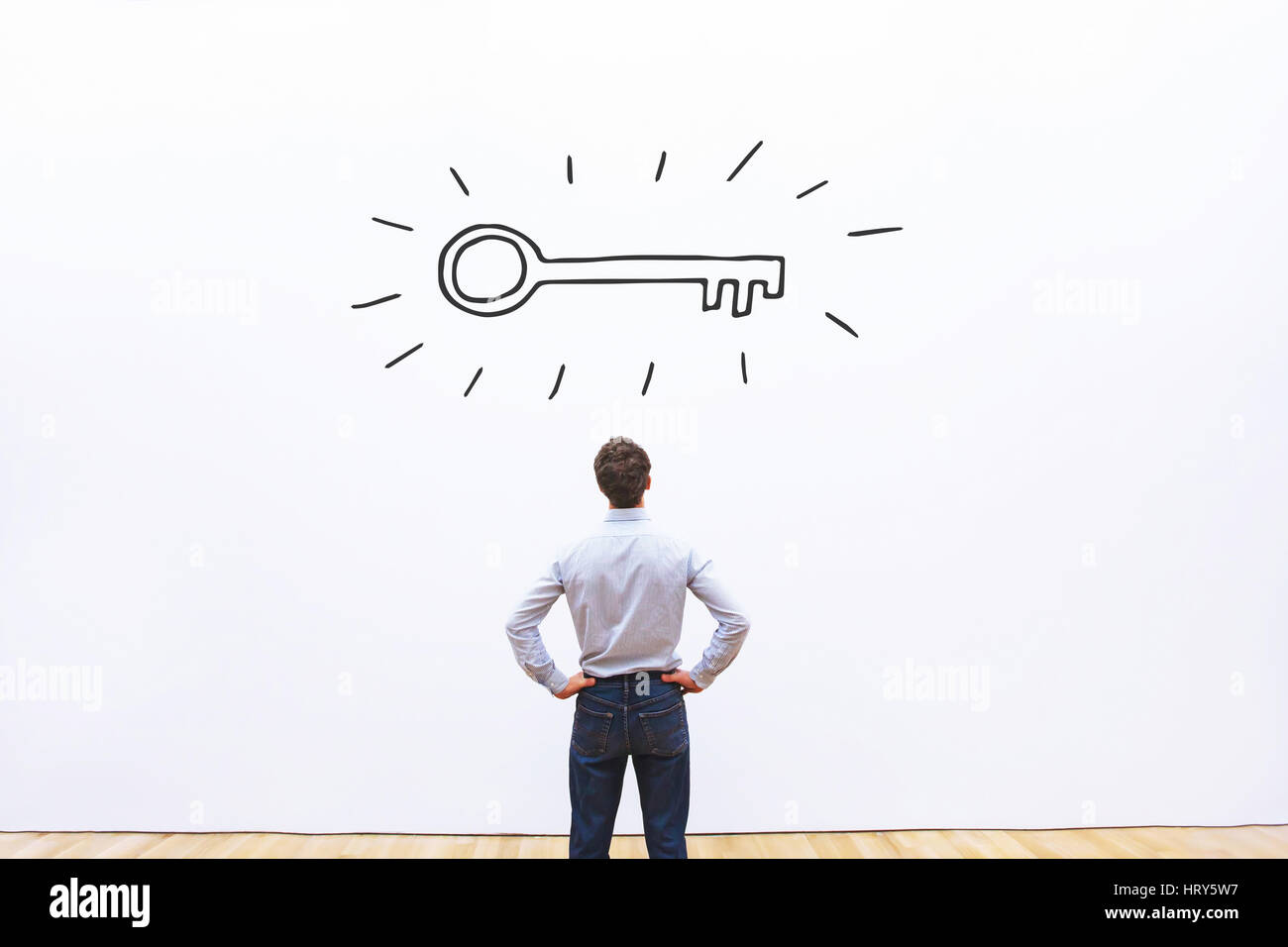 key to success, business opportunity or solution concept - Stock Image