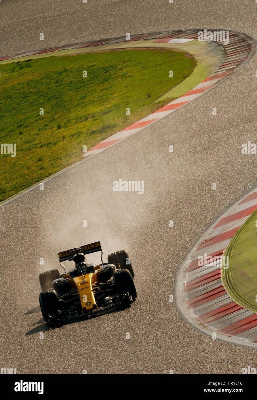 Circuit de Catalunya, Montmelo near Barcelona, Spain, 27.2.-2.3.2017, Formula One Test days ---  Nico HŸlkenberg Stock Photo