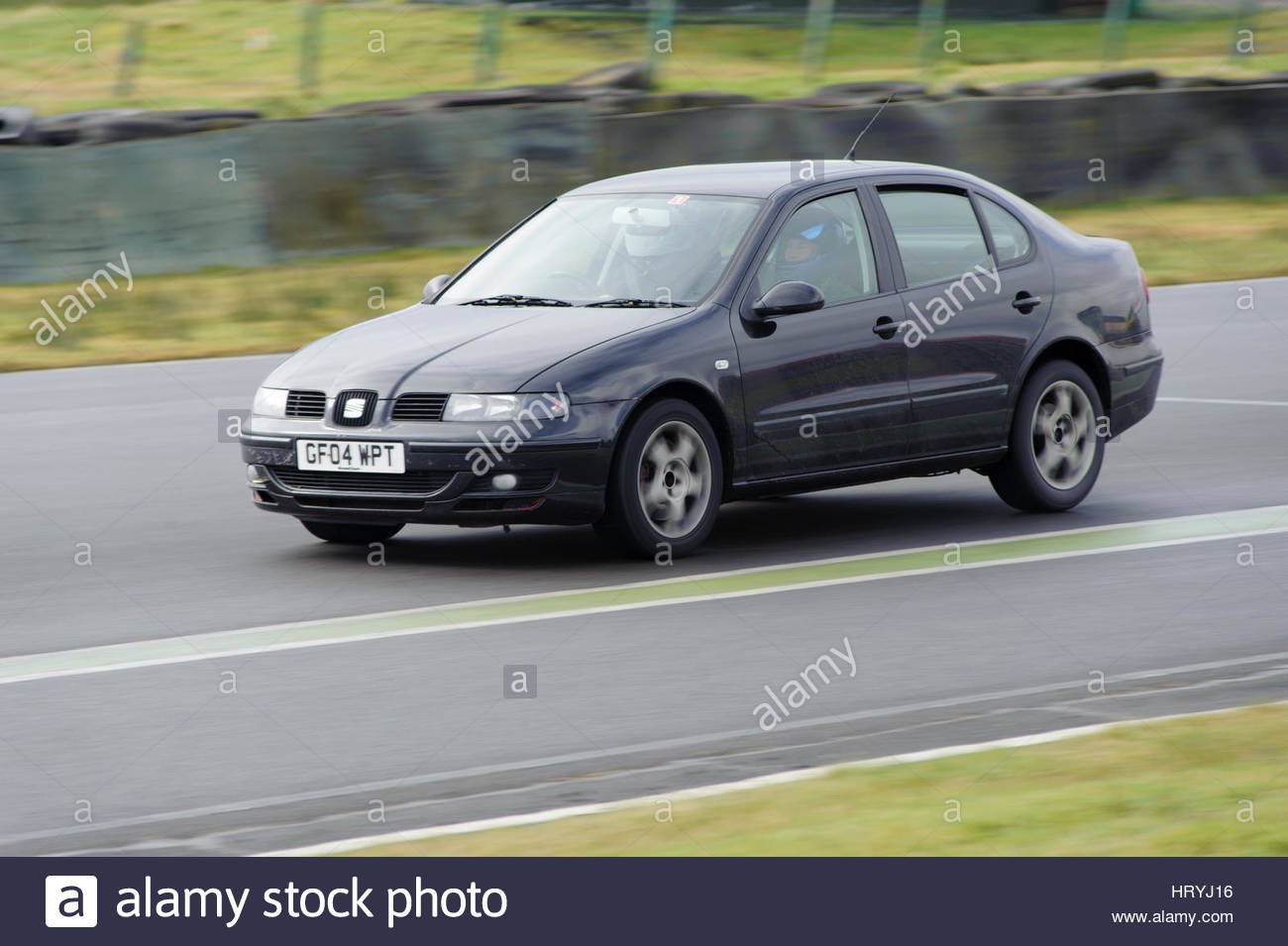 Dunfermline, UK. Sun 5th March, 2017.   Out of thre Sart Straight as the first full Hot Hatch Track Day of the year - Stock Image