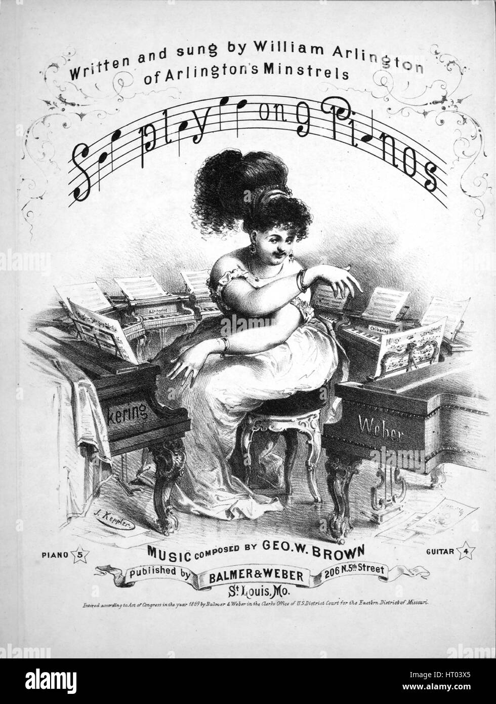Sheet Music Notes On Old Stock Photos & Sheet Music Notes On