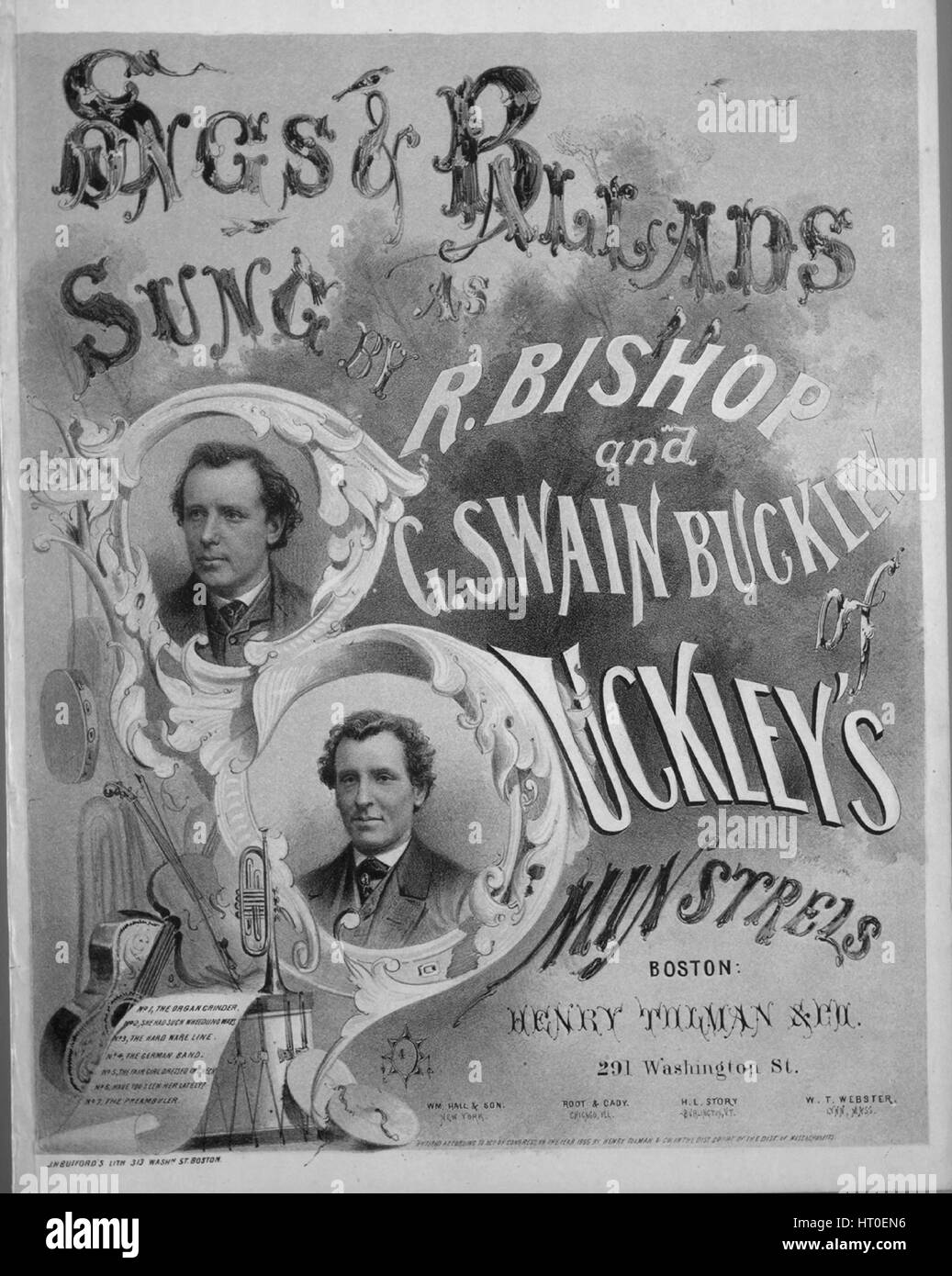 Sheet music cover image of the song 'She Had Such Wheedling Ways [tune of chorus  'Battle Hymn of the Republic']', - Stock Image