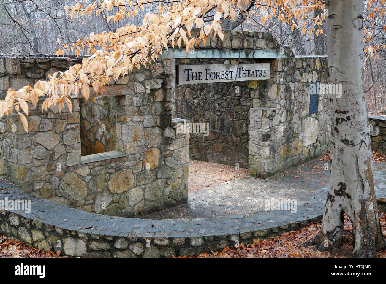The Forest Theater, University of North Carolina, Chapel Hill, UNC - Stock Image