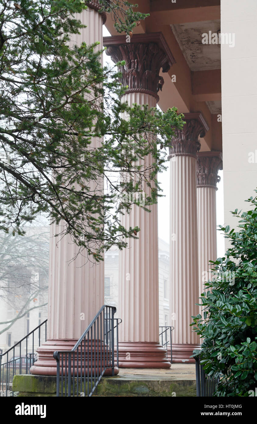 Playmakers Theater, University of North Carolina, Chapel Hill, UNC - Stock Image