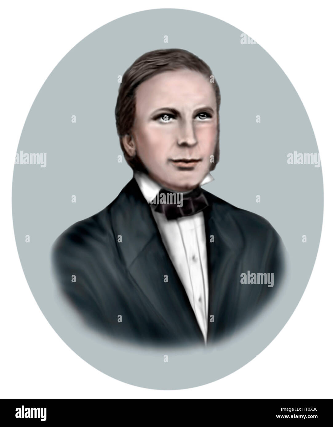 Augustus Welby Pugin, 1812-1852, English Architect, Designer, Artist, Critic - Stock Image