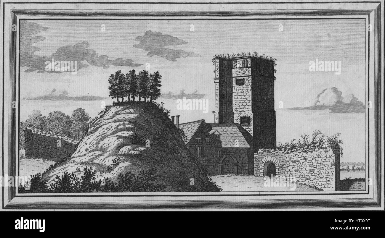 'View of Oxford Castle', 1769. Artist: Unknown.Stock Photo