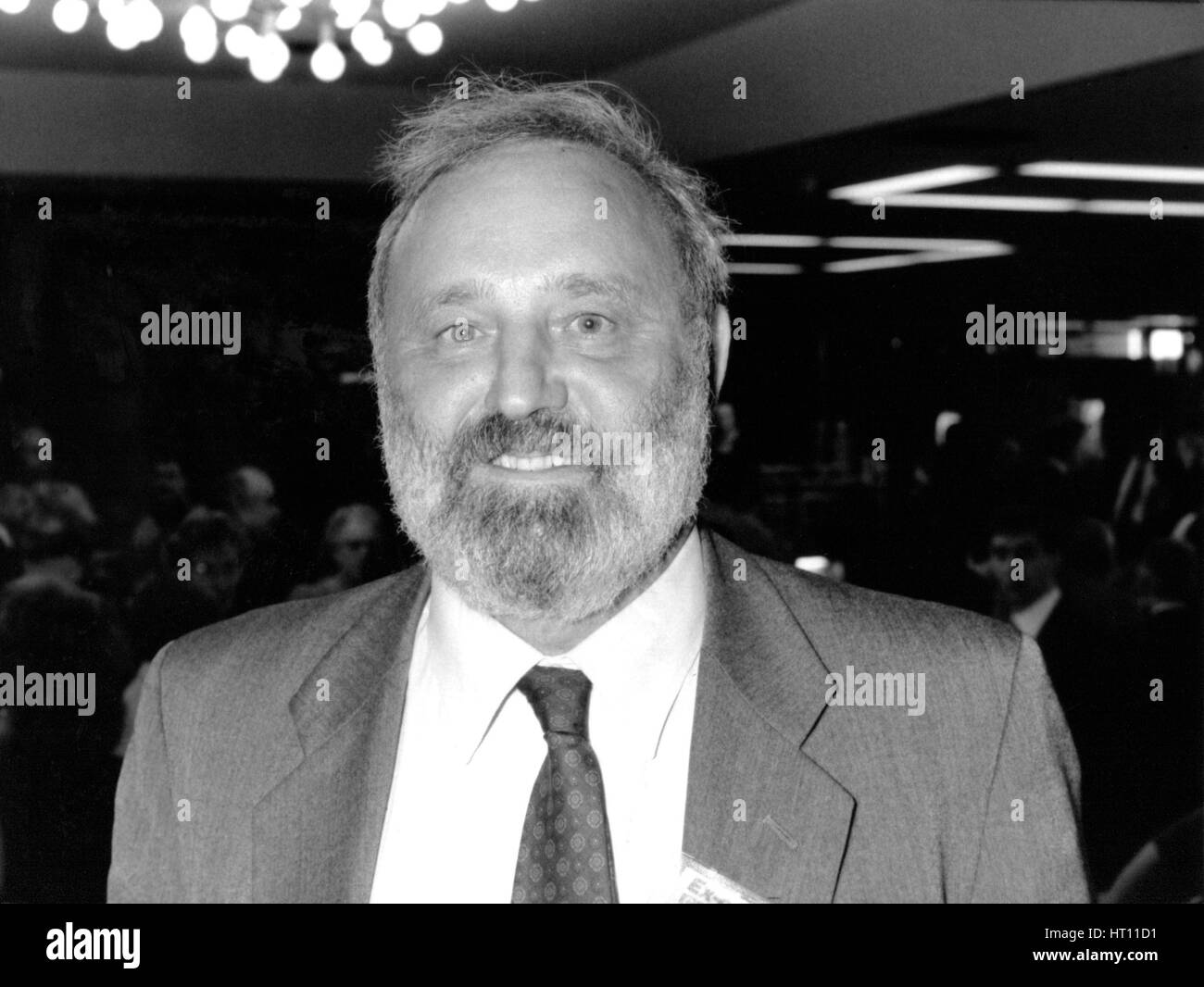 Frank Dobson, Labour party Member of Parliament for Holborn and St. Pancras, attends the party conference in Brighton, - Stock Image