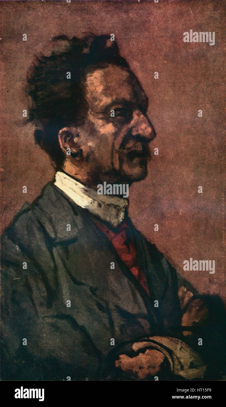 'Portrait of Fred Winter', c1897-1898. Artist: Walter Richard Sickert. - Stock Image