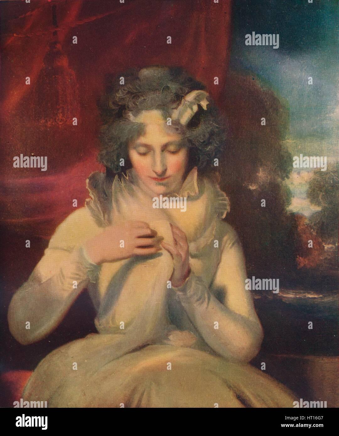 'Miss Georgina Lennox, afterwards Countess Bathurst', (1765-1842)', c1800. Artist: Thomas Lawrence. - Stock Image