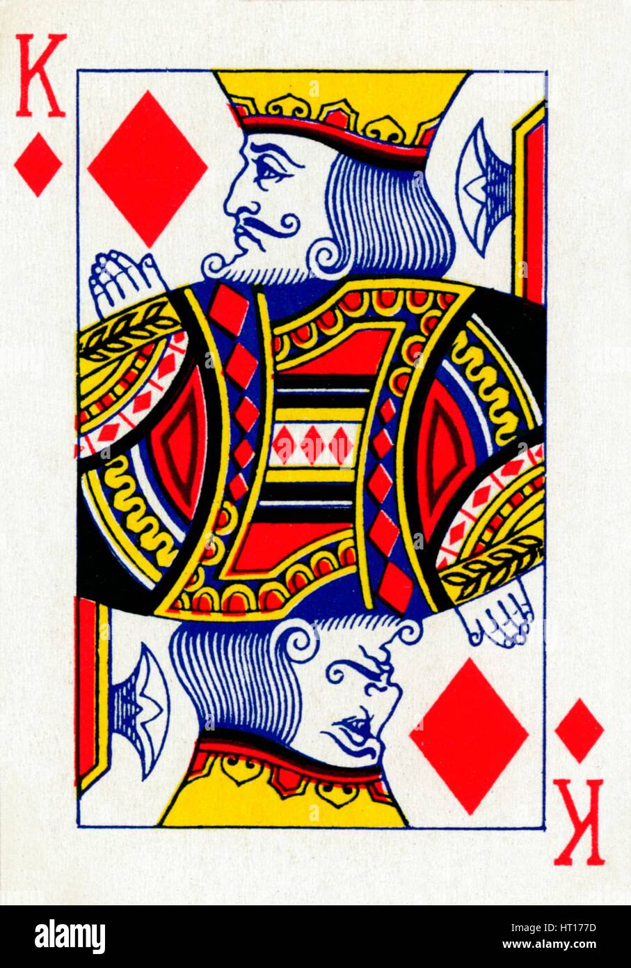 king of diamonds from a deck of goodall amp son ltd playing