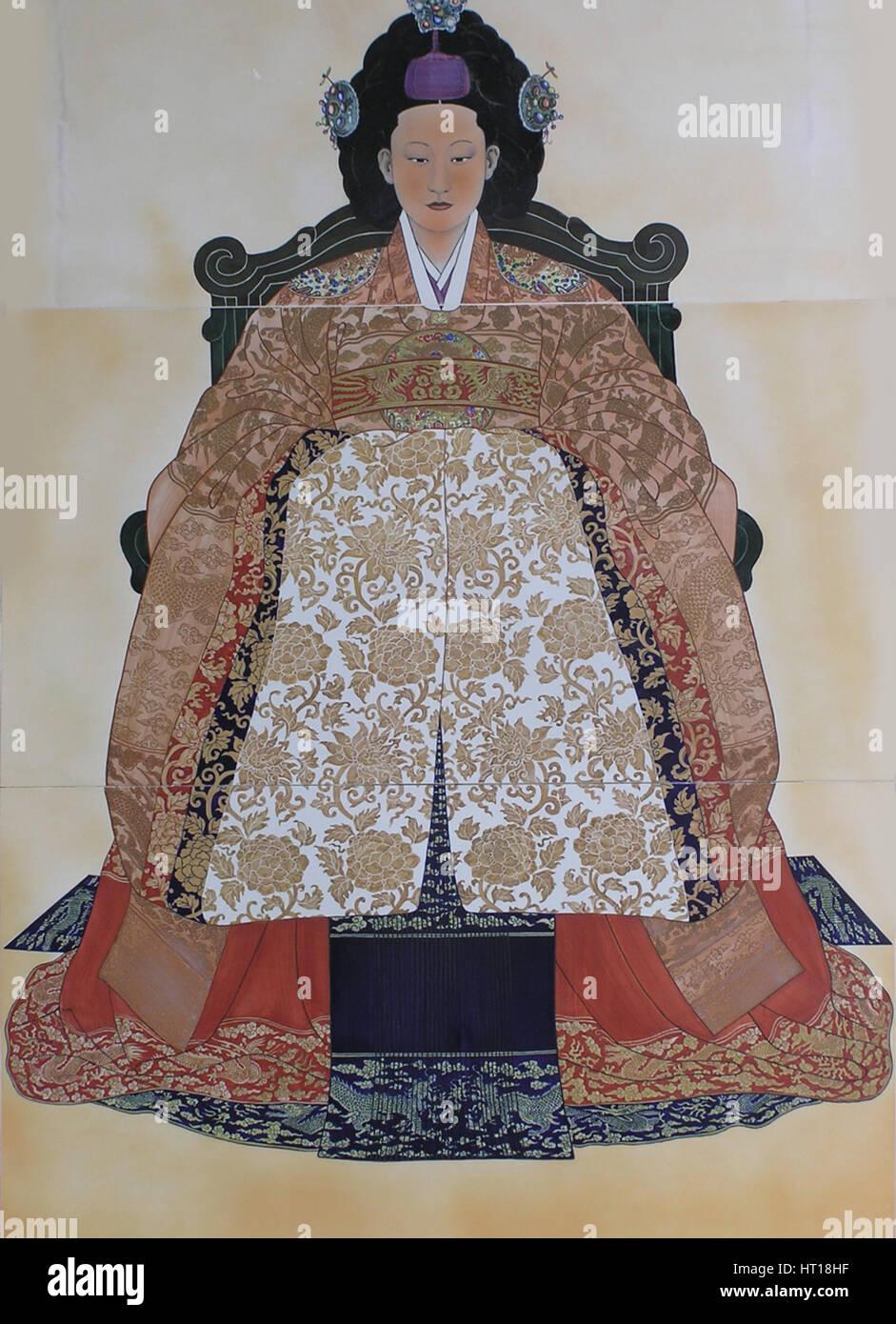 Queen Myeongseong Stock Photos & Queen Myeongseong Stock