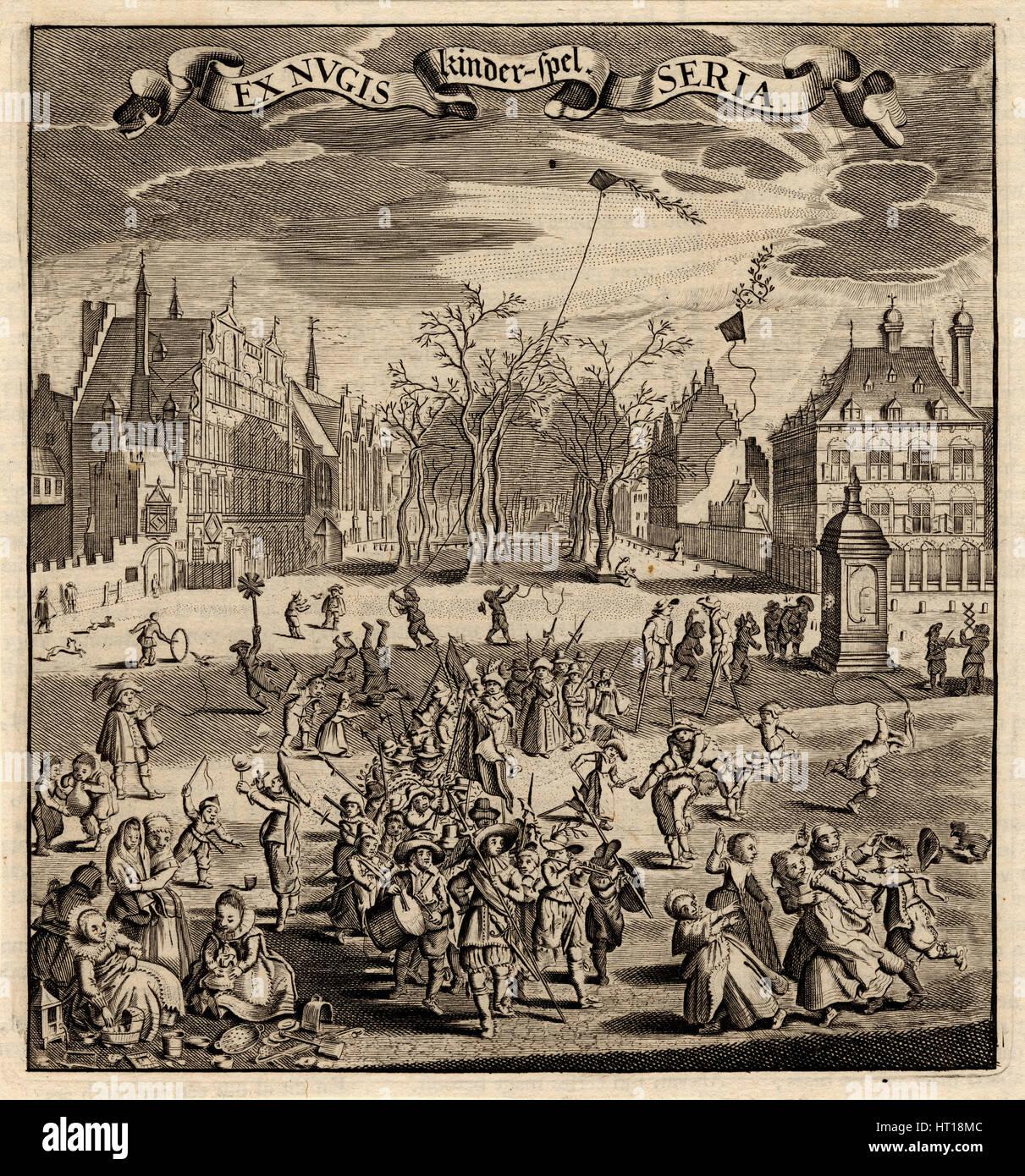 Childrens Games Artist Sillemans Experiens 1611 1653