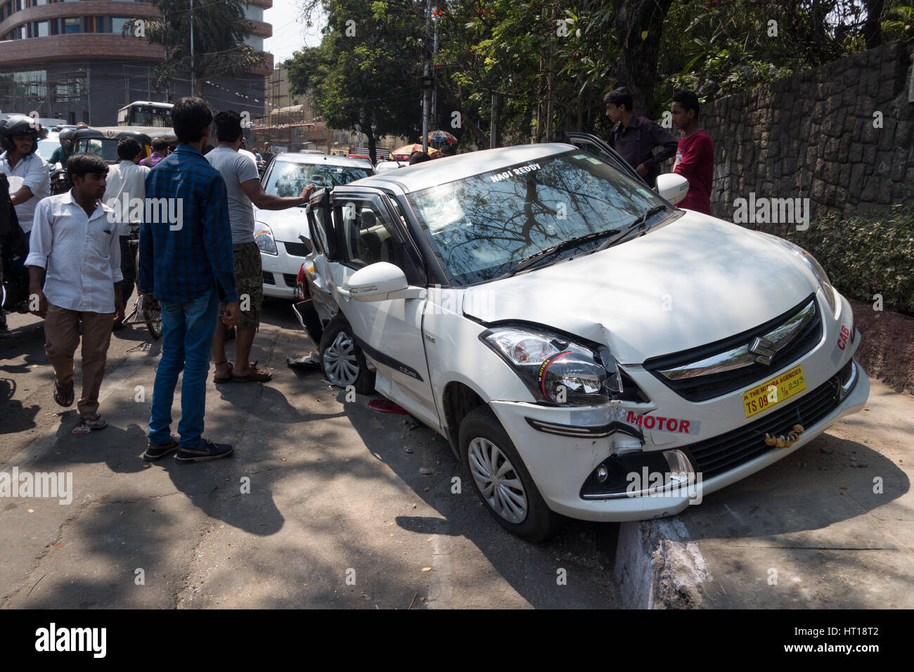 India Car Accident Stock Photos India Car Accident Stock Images