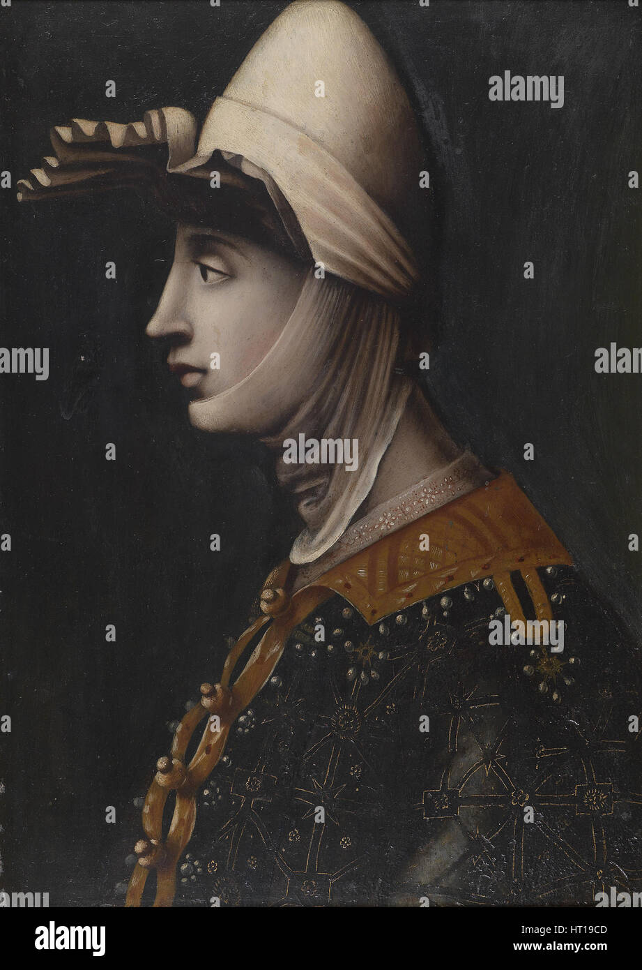 Matilda of Tuscany, Mid of 16th century. Artist: Anonymous - Stock Image