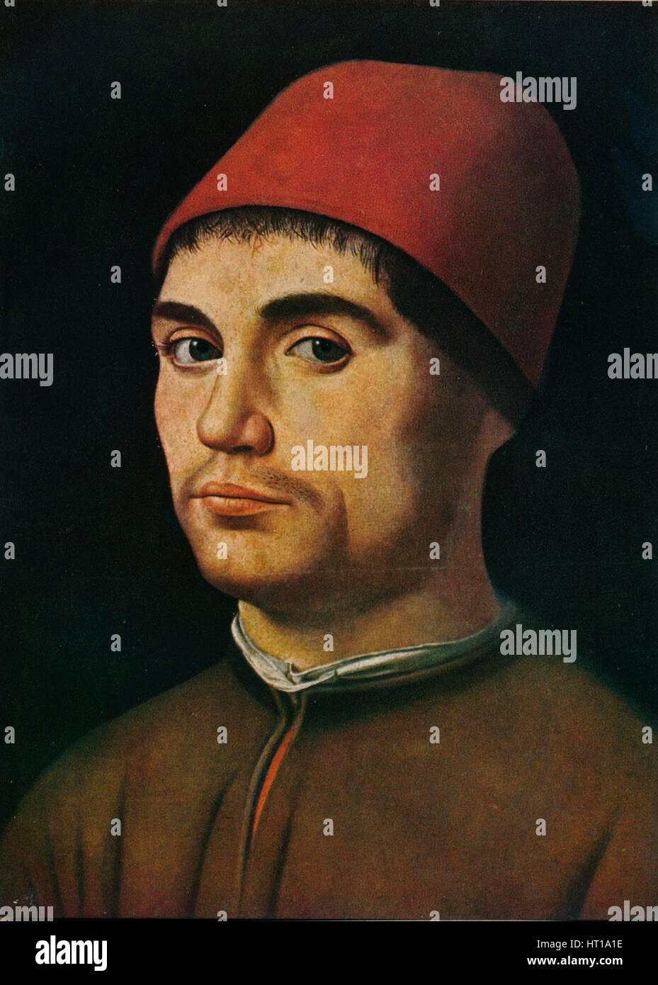 'Portrait of a Man', c1475, (1909). Artist: Antonello da Messina. - Stock Image