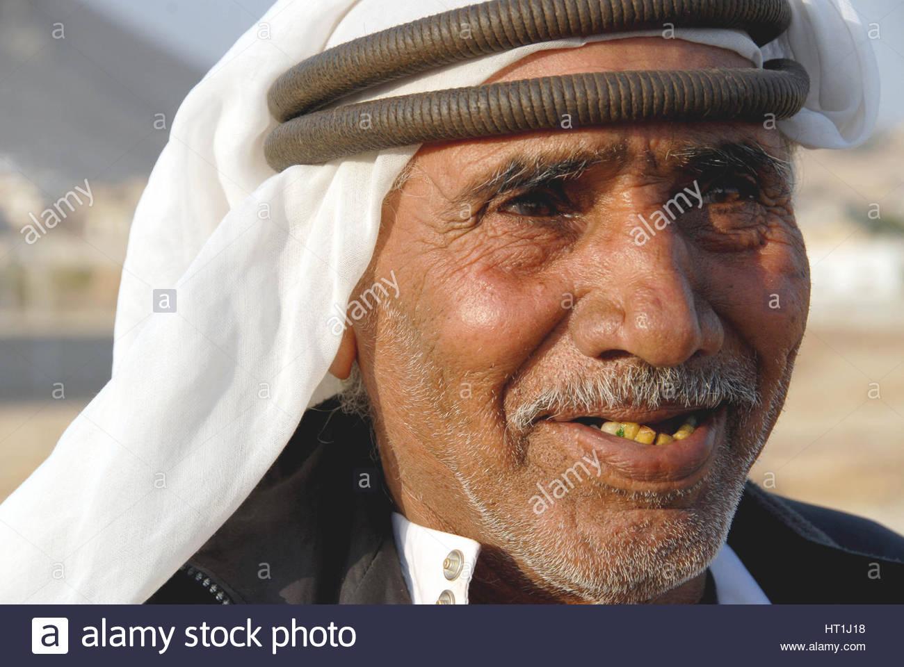 A Bedouin Palestinian - Jericho - West Bank    Credit ©  Livio Senigalliesi/Sintesi /Alamy Stock Photo - Stock Image