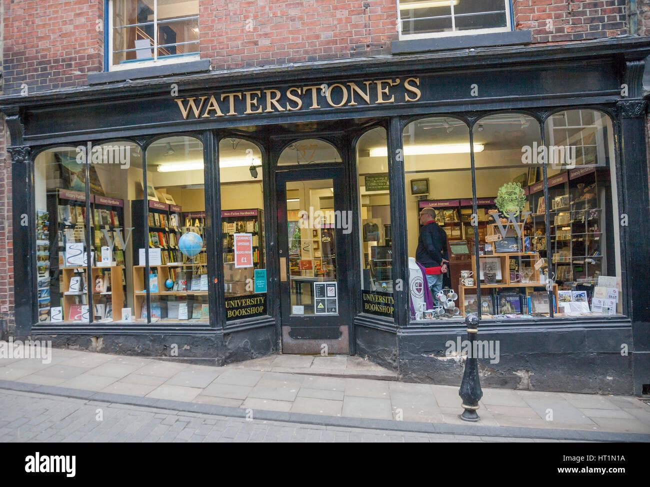 Waterstones Bookshop In Durham City Center England Uk Stock Photo