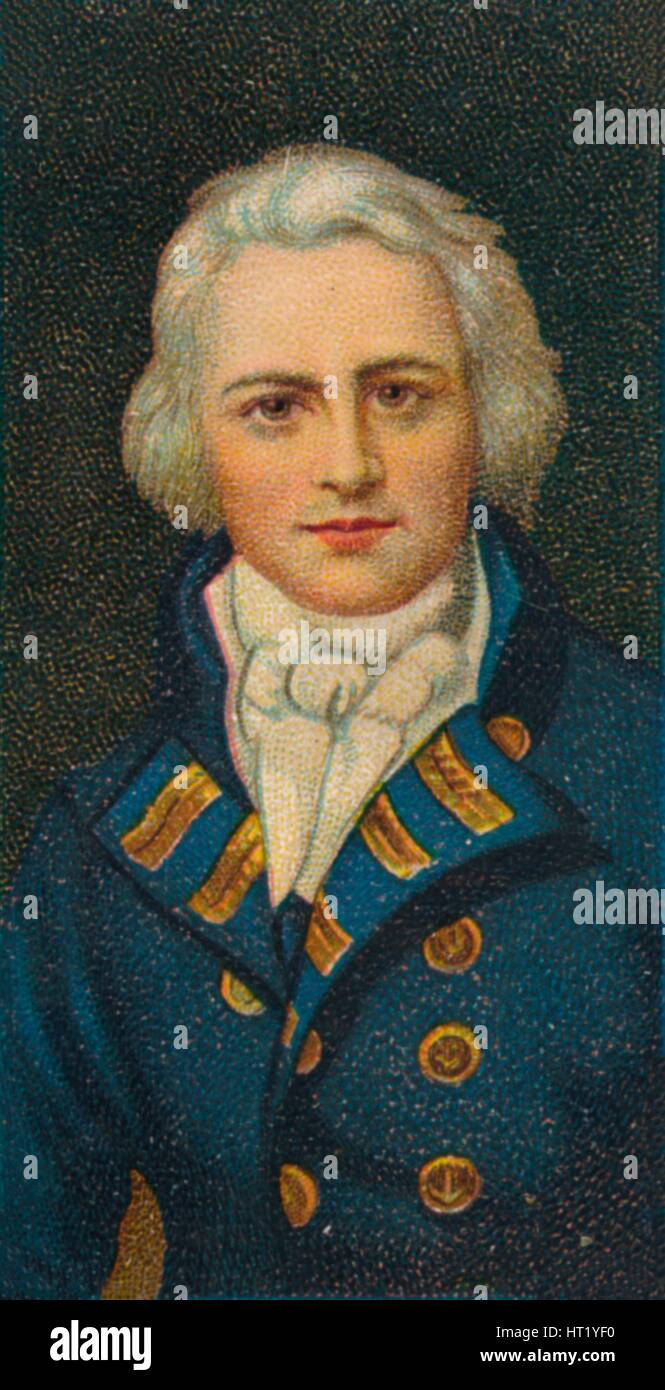 Admiral Sir Graham Moore (1764-1843) British sailor and a career officer, 1912. Artist: Unknown - Stock Image