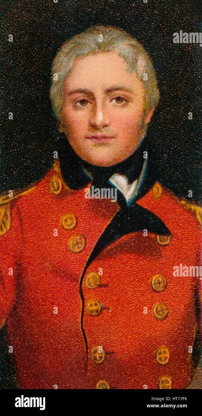 Lieutenant-General Sir John Moore (1761-1809), c1805. (1912). Artist: Unknown - Stock Image