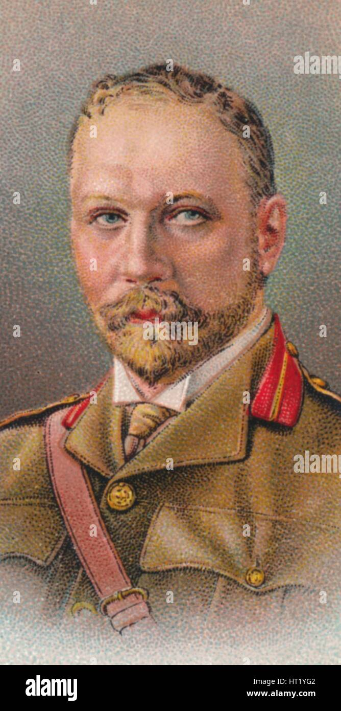Jan Christiaan Smuts (1870-1950), South African and British Commonwealth statesman, 1917. Artist: Unknown - Stock Image