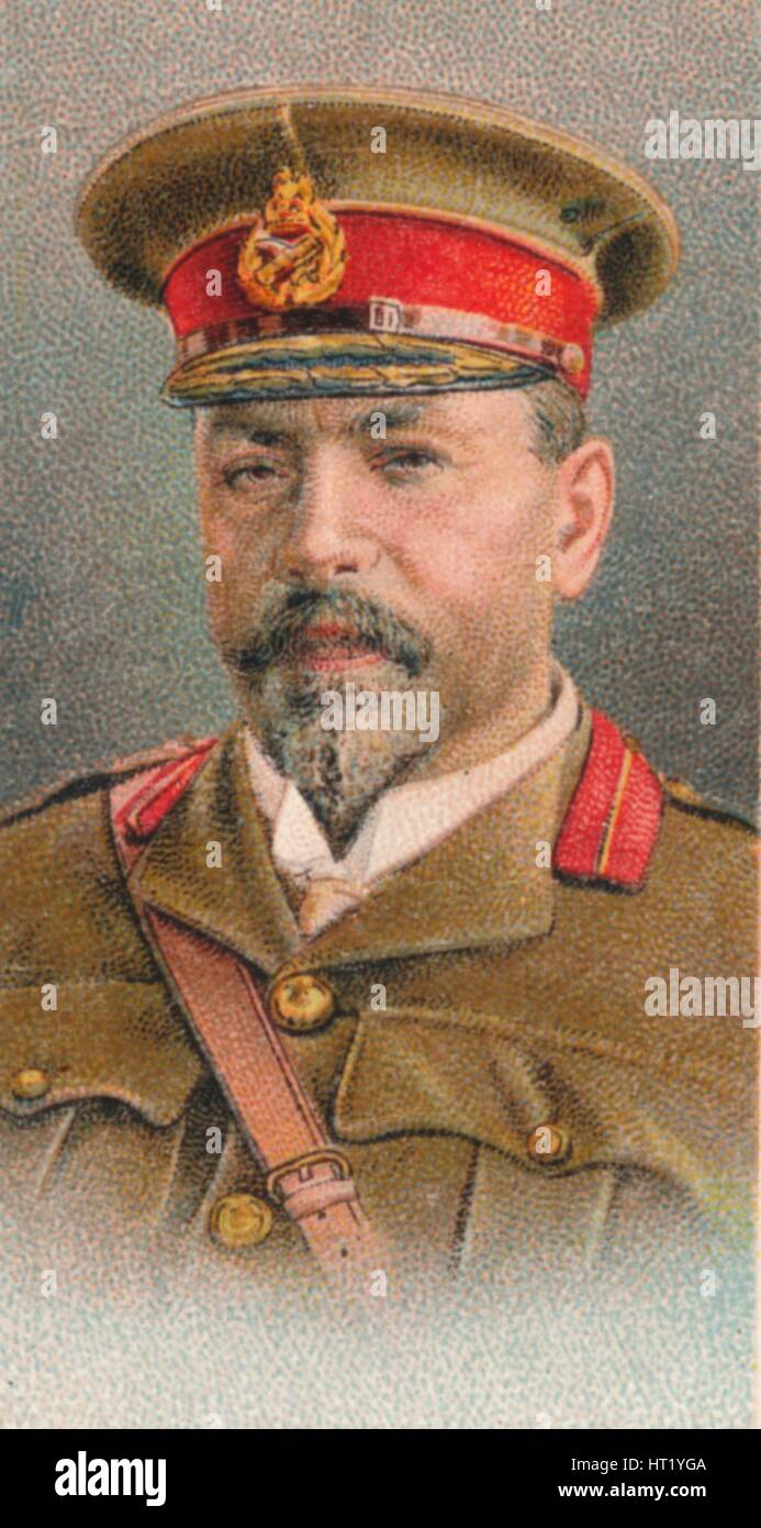 General Louis Botha (1862-1919), Afrikaner soldier and statesman, 1917. Artist: Unknown - Stock Image