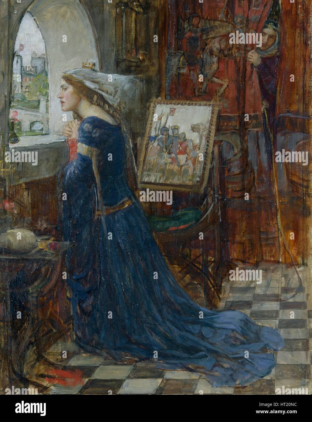 'Fair Rosamund', 1916. Artist: John William Waterhouse. - Stock Image