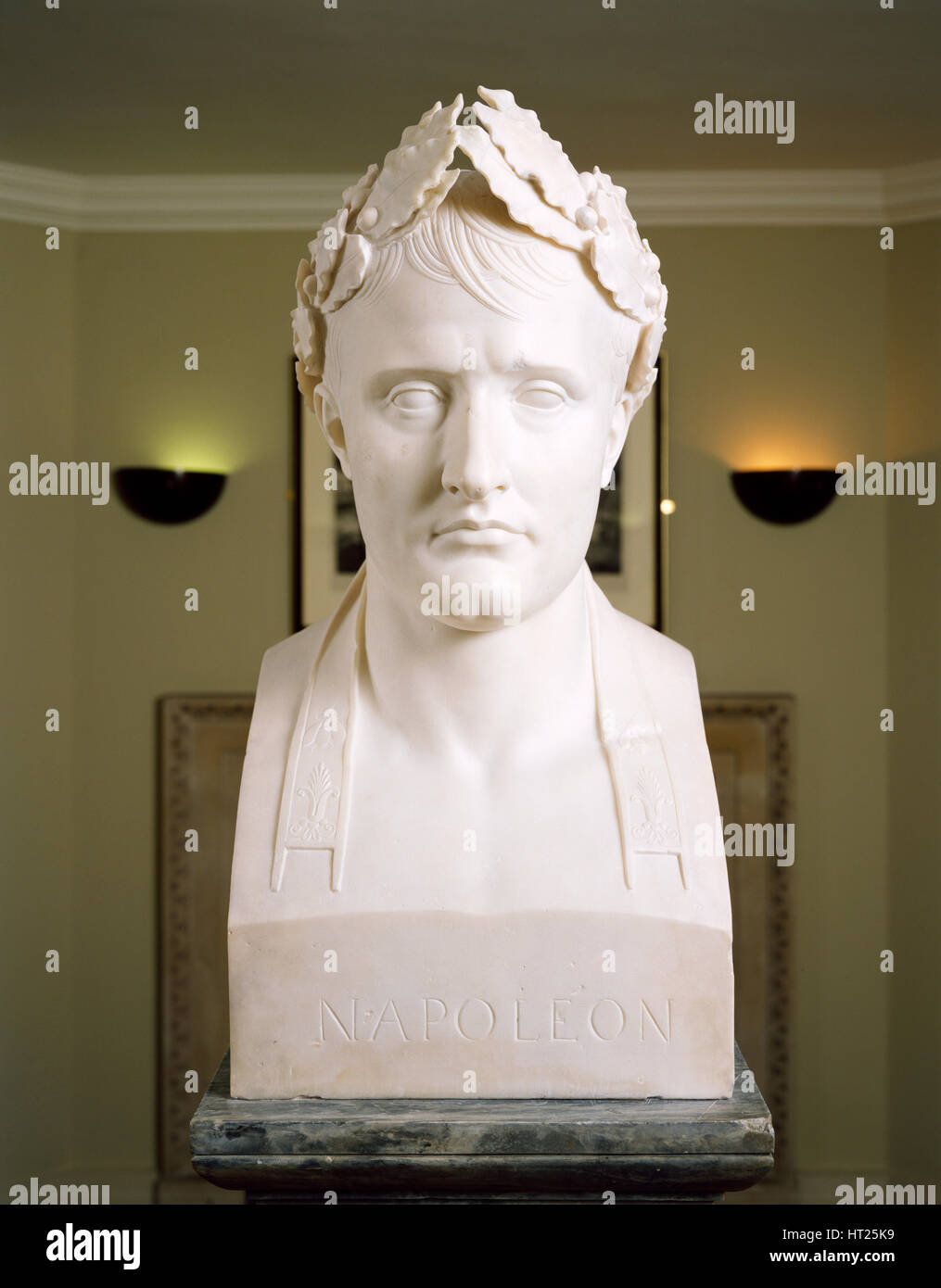 Bust of Napoleon as Emperor of France, c2000s. Artist: Historic England Staff Photographer. - Stock Image