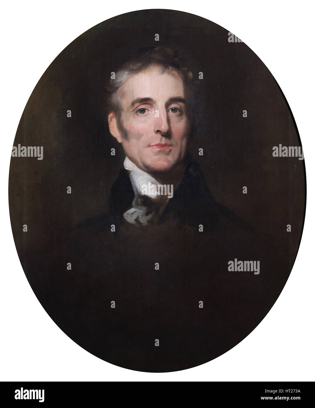 Portrait of the Duke of Wellington, c1835. Artist: John Simpson. - Stock Image