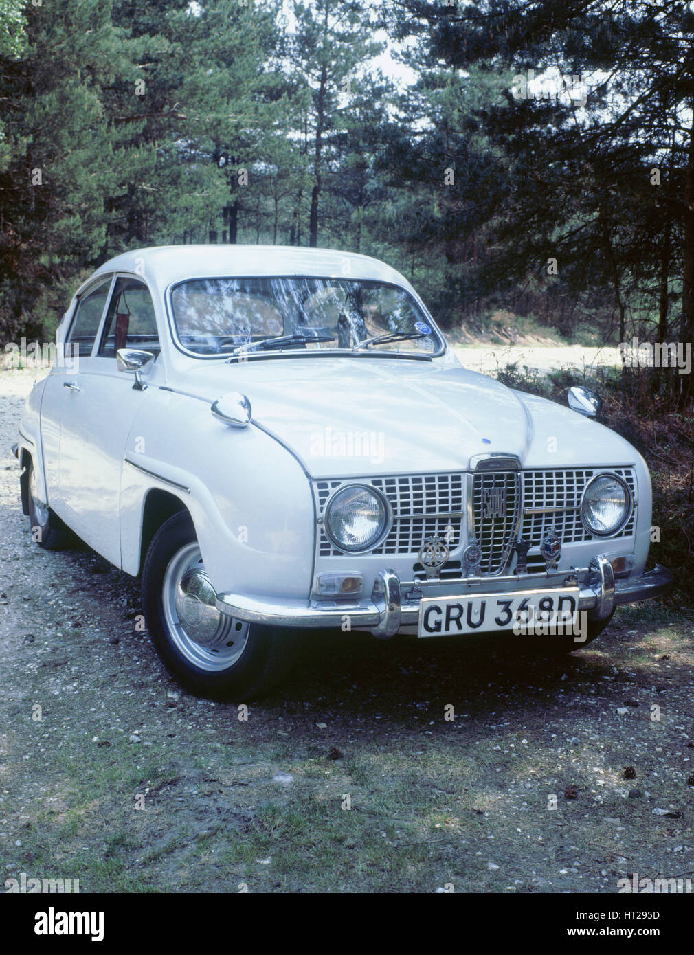 1966 Saab 96. Artist: Unknown. - Stock Image