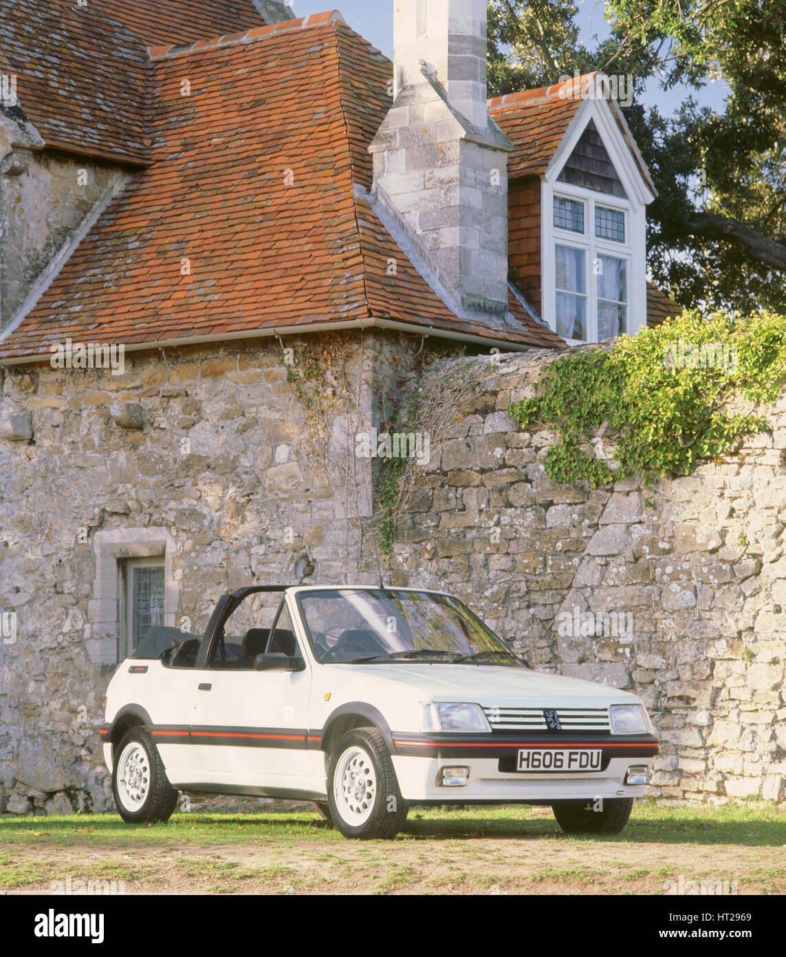 1990 Peugeout 205 Cti. Artist: Unknown. - Stock Image
