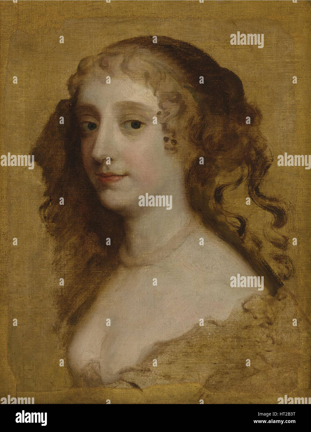 Portrait of Lady Anne Hyde, Duchess of York (1637-1671). Artist: Lely, Sir Peter (1618-1680) - Stock Image