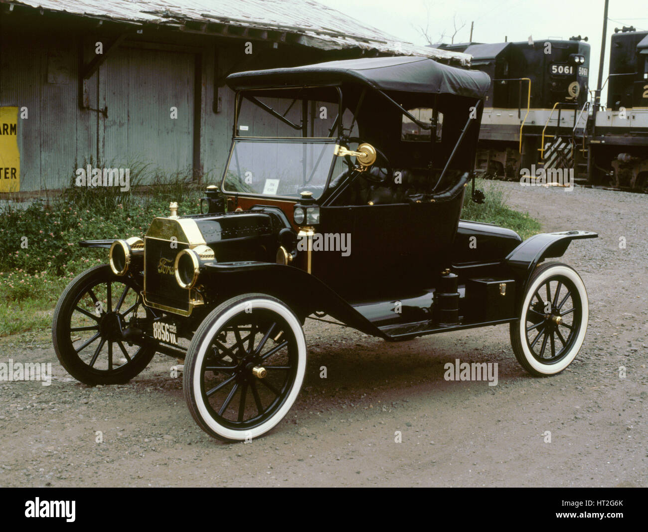 1914 Ford Model T. Artist: Unknown. - Stock Image