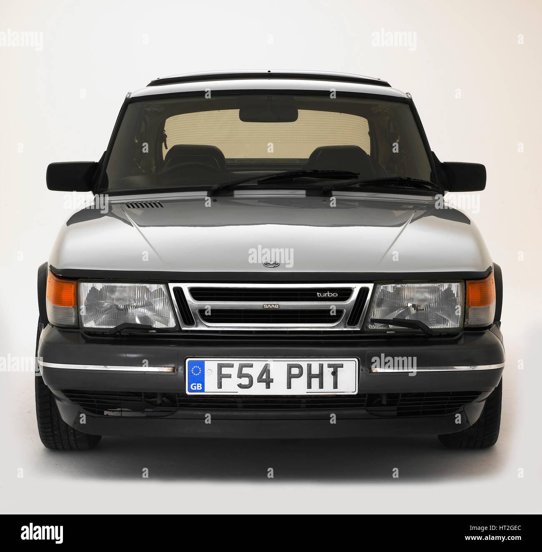 1988 Saab 900 Turbo Artist: Unknown. - Stock Image