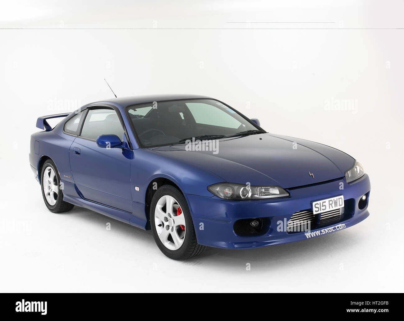 Perfect 1999 Nissan Silvia Spec R Artist: Unknown.   Stock Image