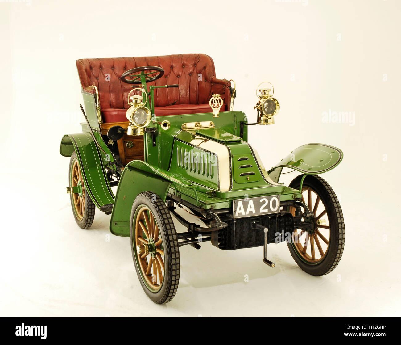 1903 De Dion Bouton Model Q Artist: Unknown. - Stock Image