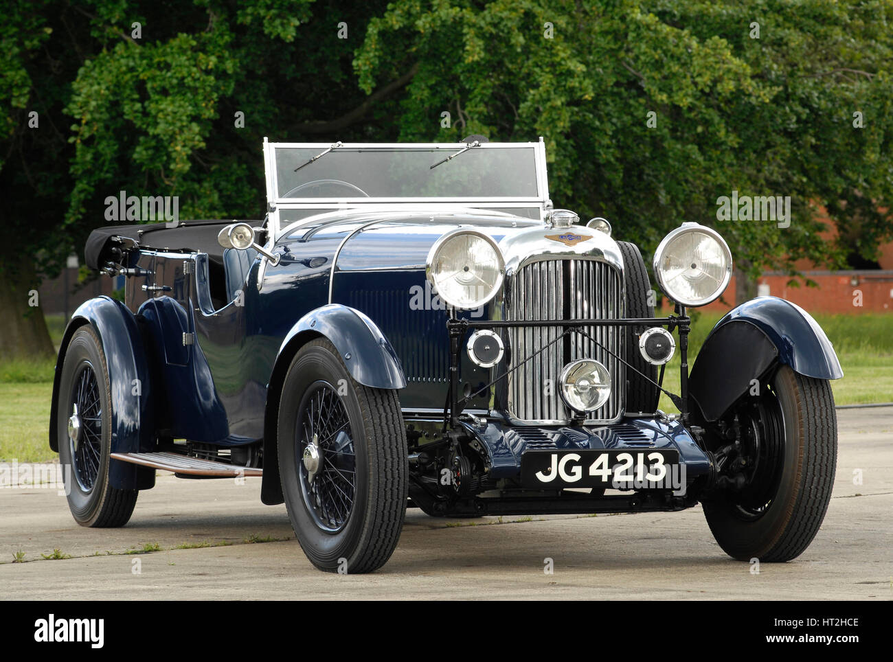 1934 Lagonda 16-80 T2 Special Tourer Artist: Unknown. - Stock Image