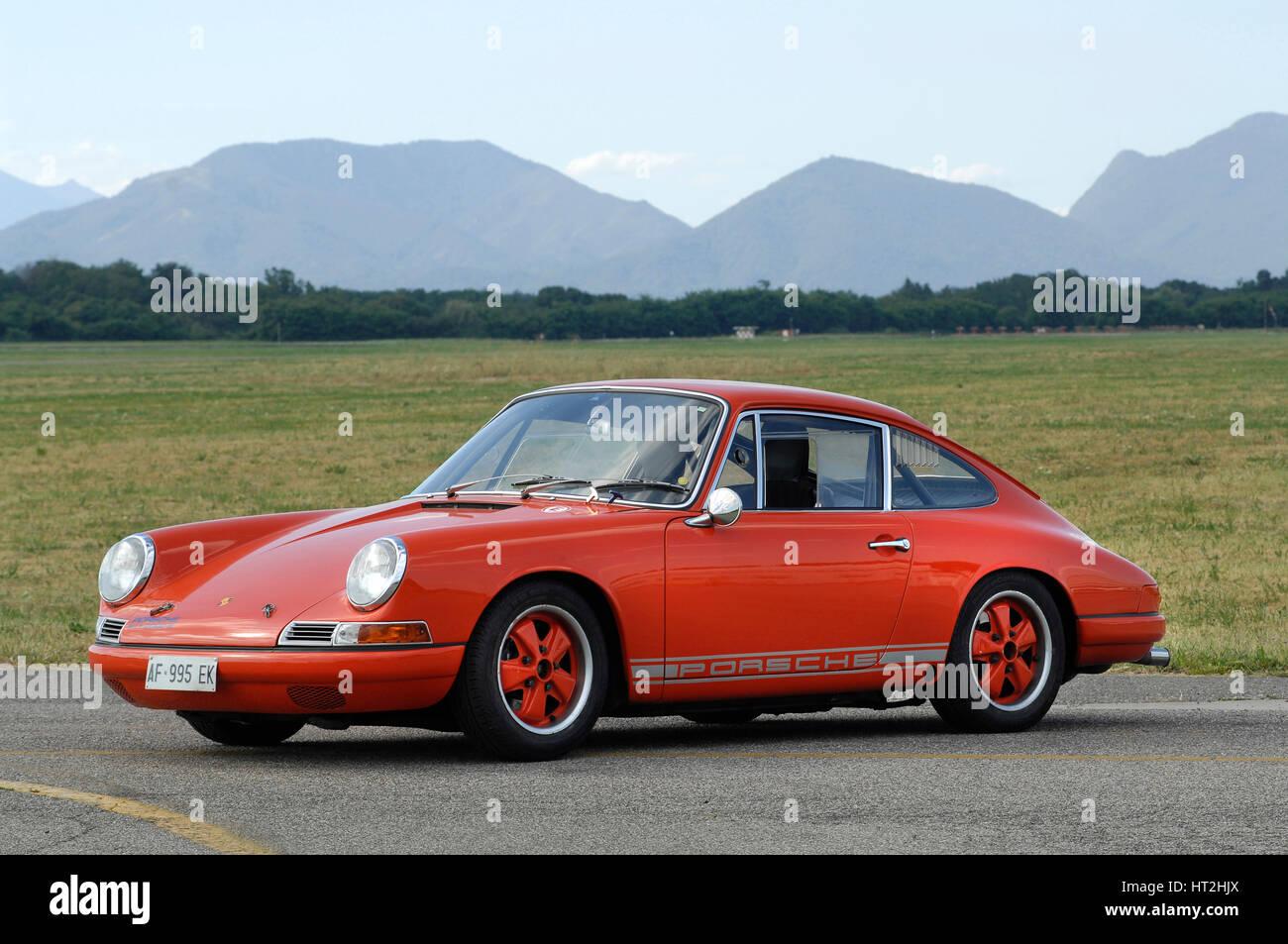 1965 Porsche 911 2000 R Artist: Unknown. - Stock Image