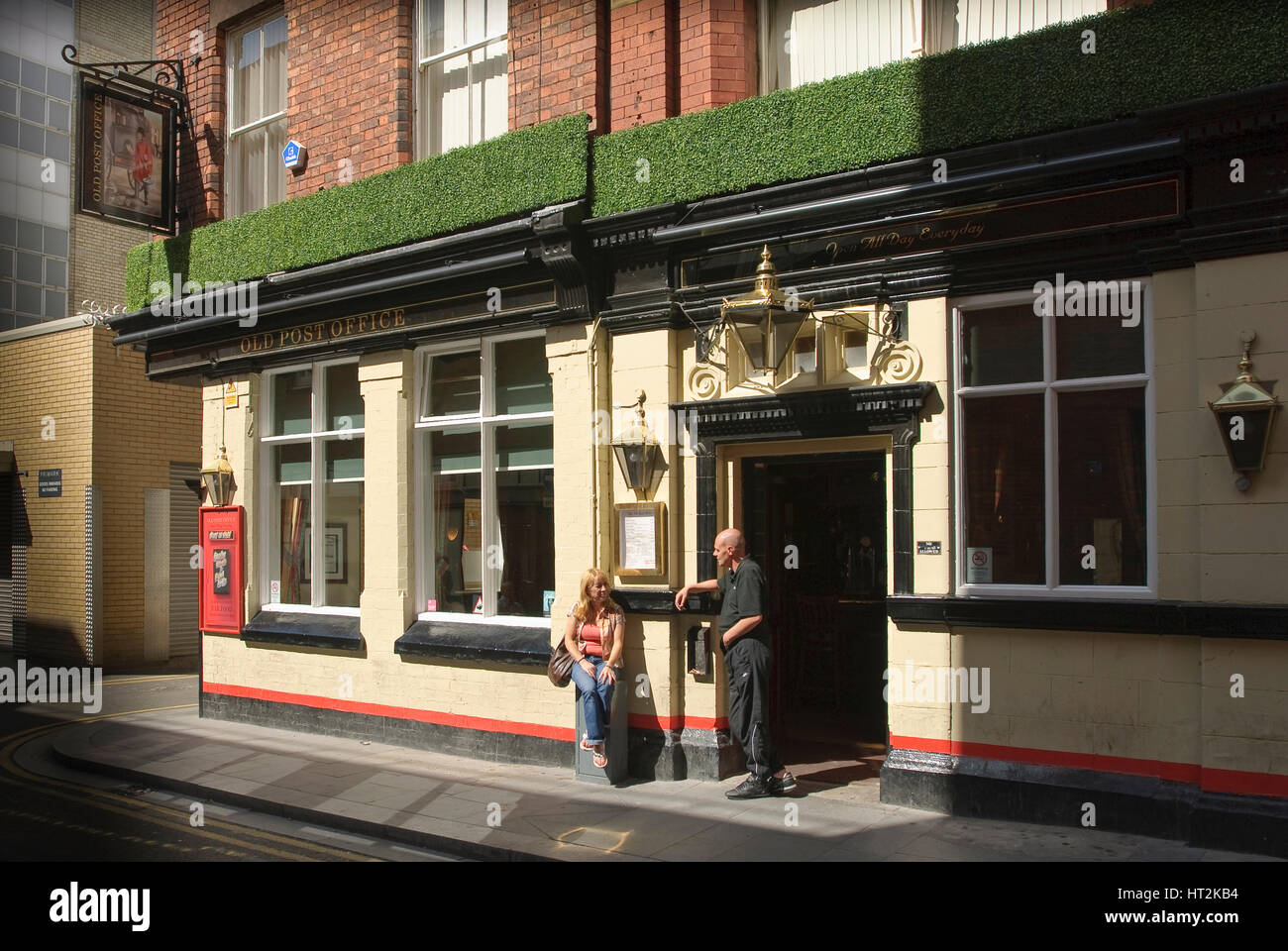 The Old Poste Office public house in School Lane Liverpool. Stock Photo