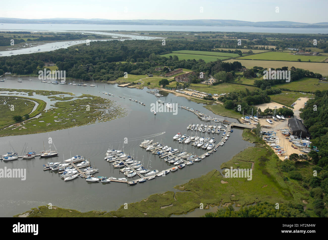 Beaulieu Aerial shots. Artist: Unknown. - Stock Image