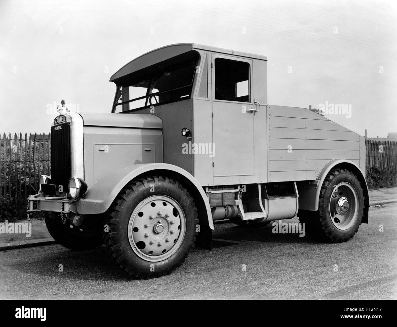 1946 Scammell Showman's Tractor Artist: Unknown. - Stock Image