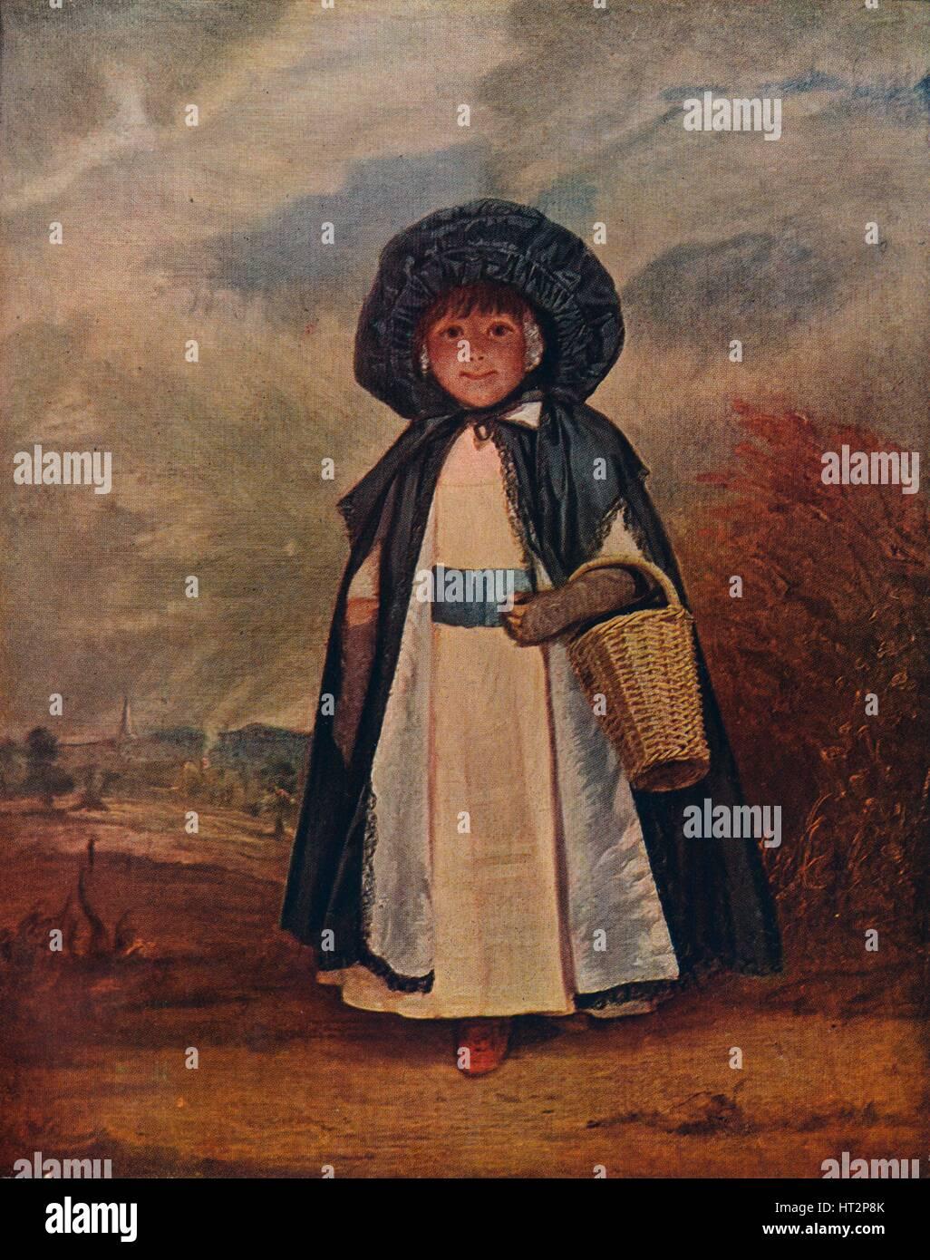 'Miss Crewe', 1775 (c1927). Artist: Sir Joshua Reynolds. - Stock Image