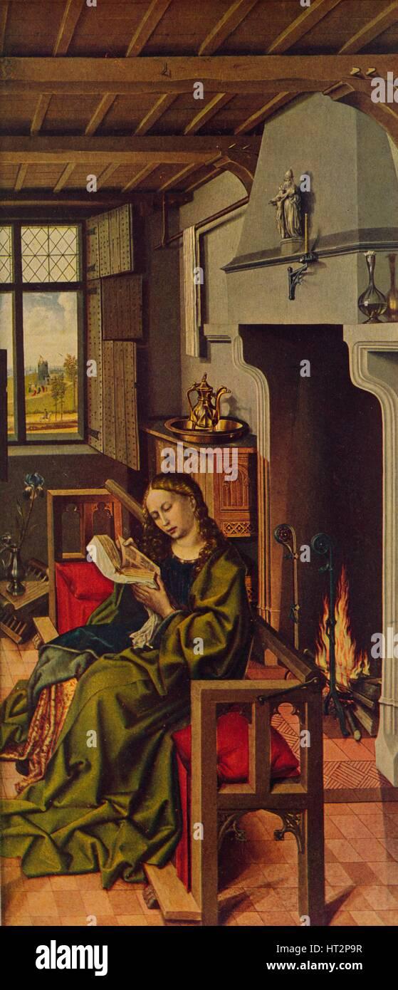 'Ala De Retablo (Santa Barbara)', 1438, (c1934). Artist: Robert Campin. - Stock Image