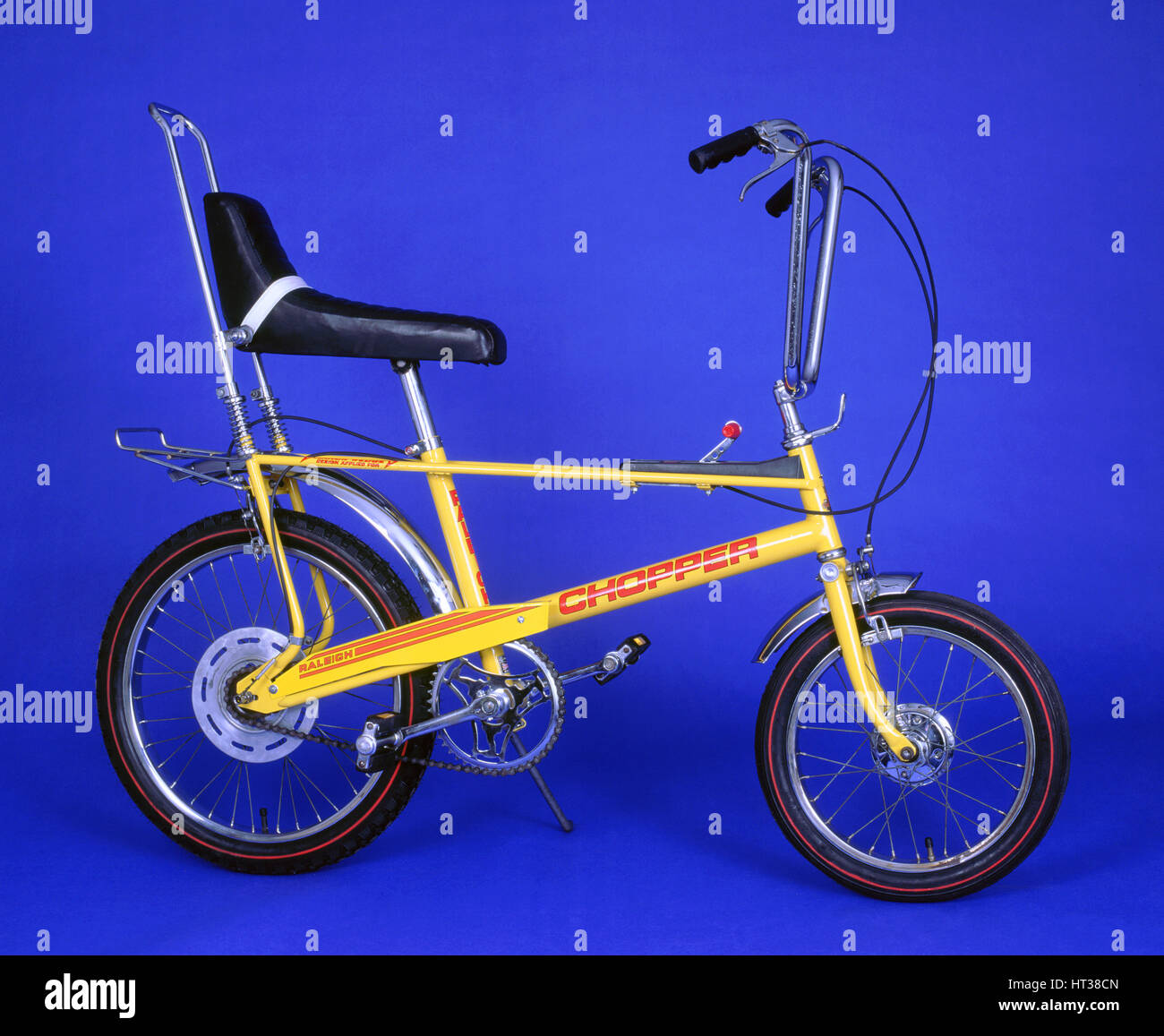 1976 Raleigh Chopper bicycle. Artist: Unknown. - Stock Image