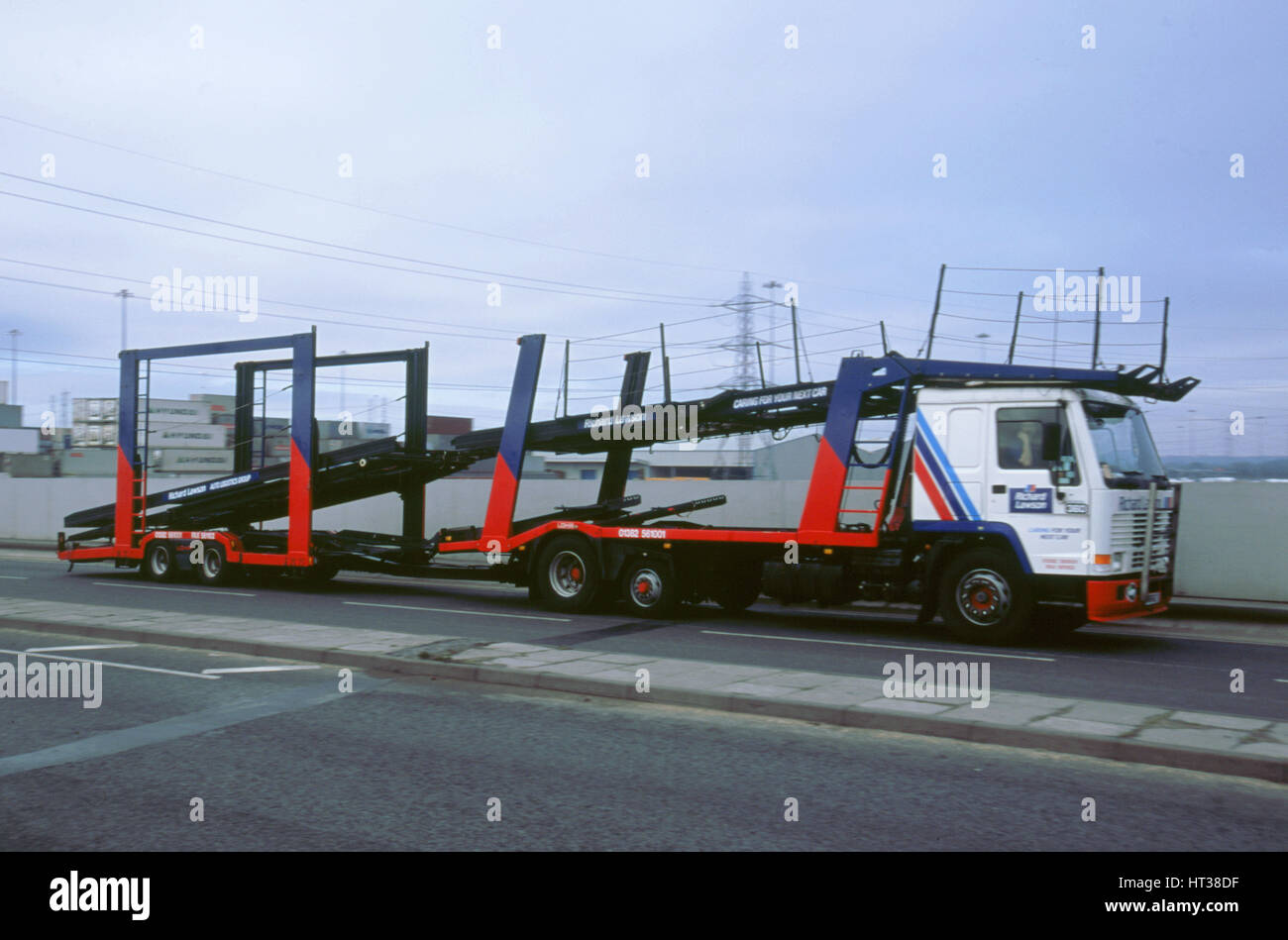Car Transporter Lorry Stock Photos Amp Car Transporter Lorry Stock Images Alamy