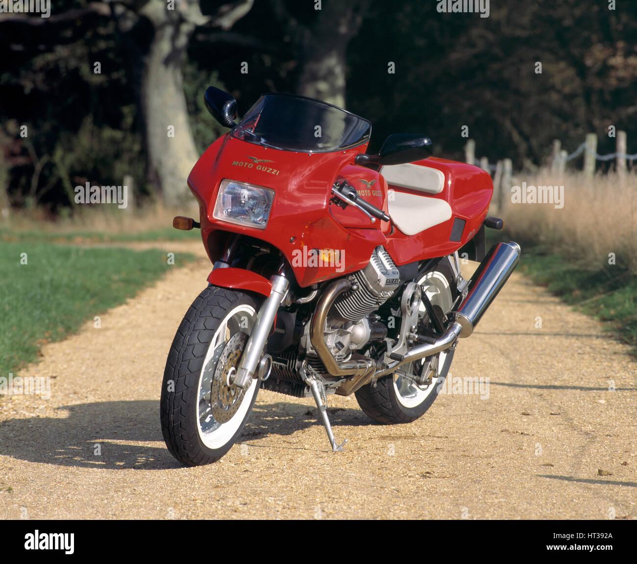 1994 Moto Guzzi Daytona 1000. Artist: Unknown. - Stock Image